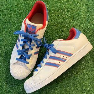 Adidas Superstars original shell toes men's sz 12